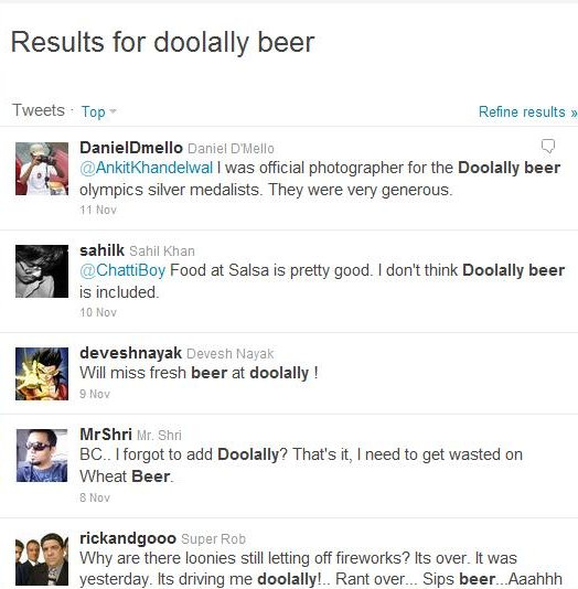 Doolally Beer