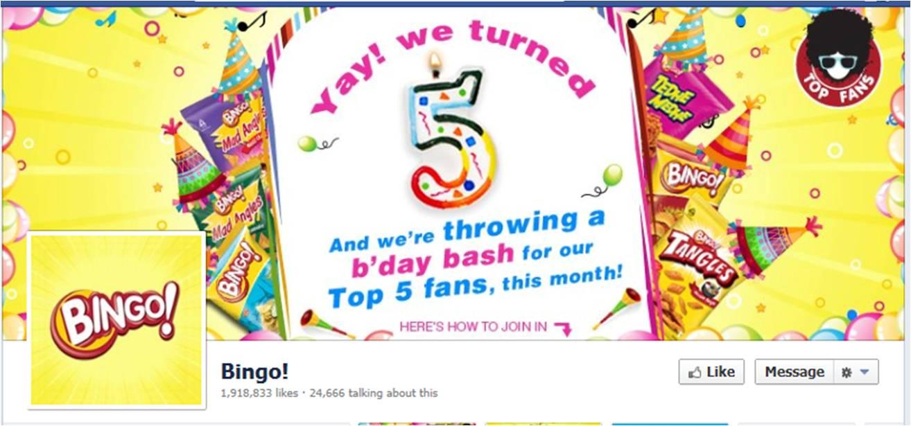 project report on itc bingo