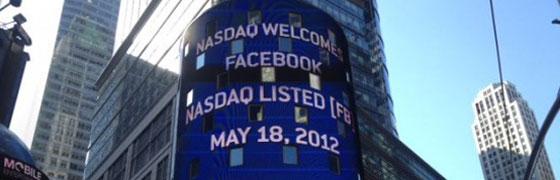 Facebook IPO, Facebook Infographic, facebook, listed, nasdaq, facebook IPO