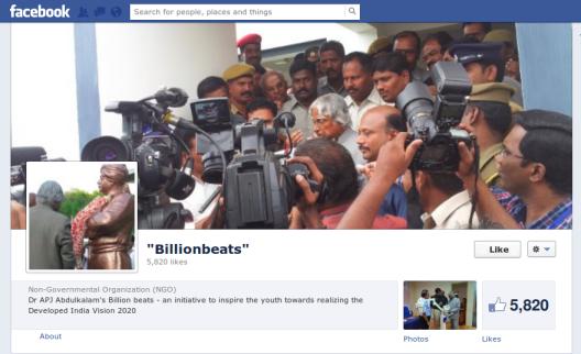 Abdul Kalam Facebook Page