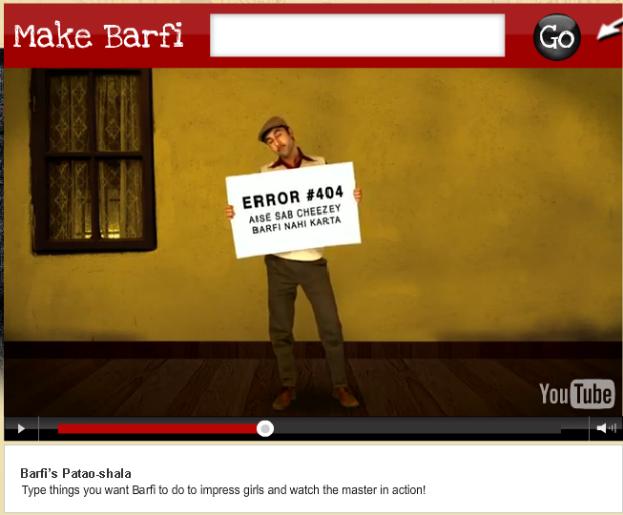 Barfi YouTube 404 Error