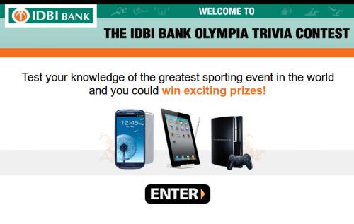 IDBI Olympia Trivia