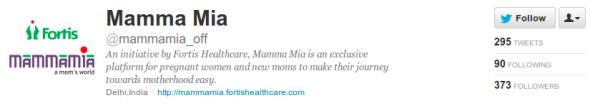 Mamma Mia Twitter Bio