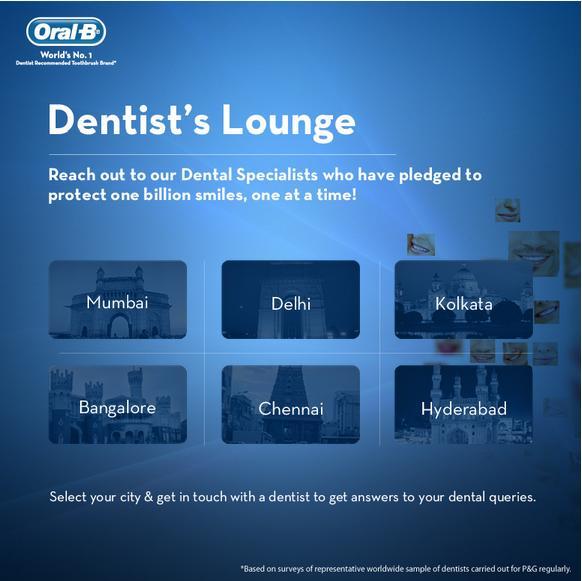 oral-b dentist's lounge