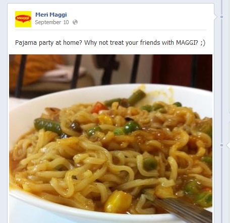 Meri maggi Facebook