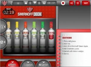 Smirnoff deck