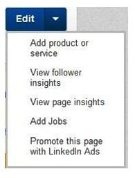 LinkedIn Admin Profile