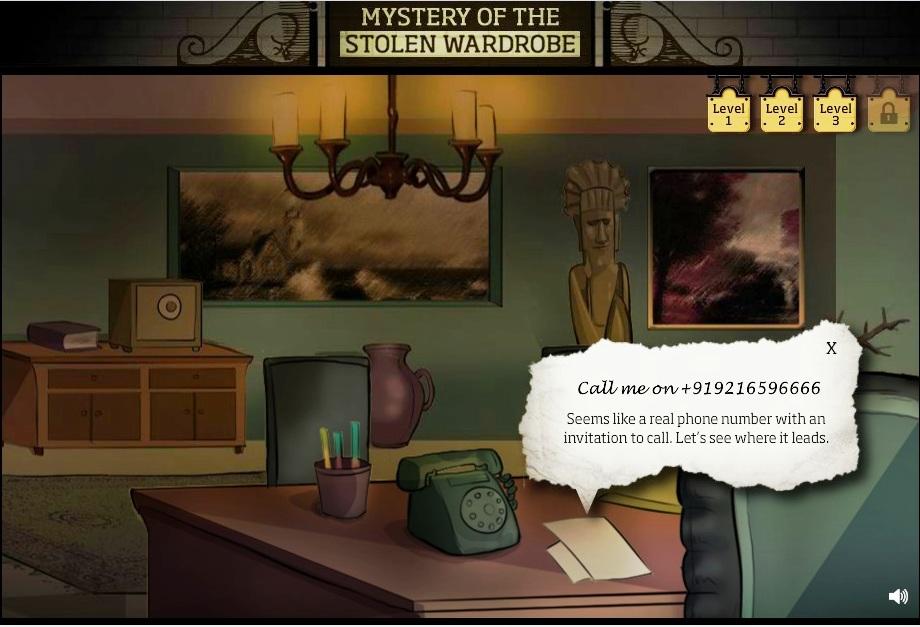 mystery of the stolen wardrobe