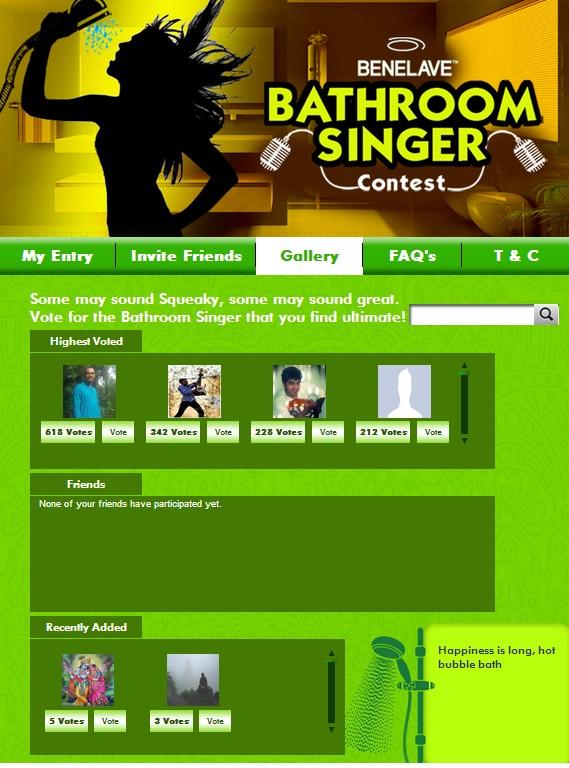 benelave facebook contest app