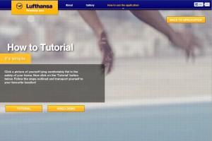 Lufthansa Facebook App