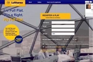 Lufthansa Facebook Campaign