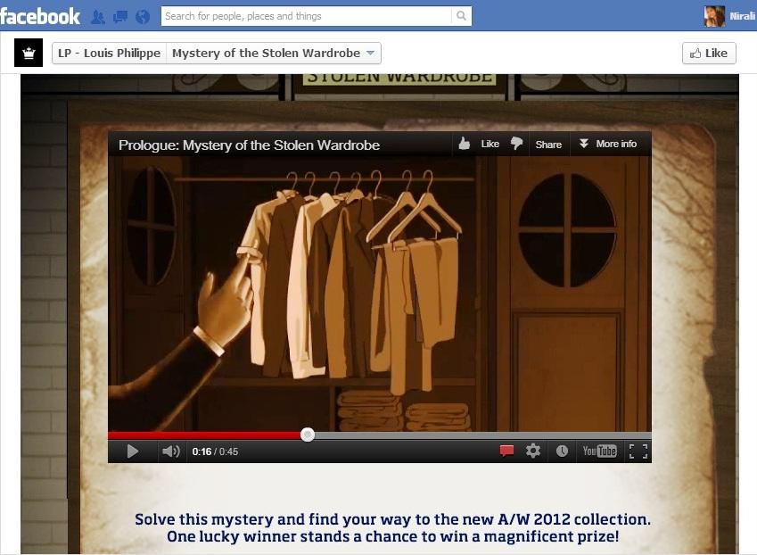mystery wardrobe