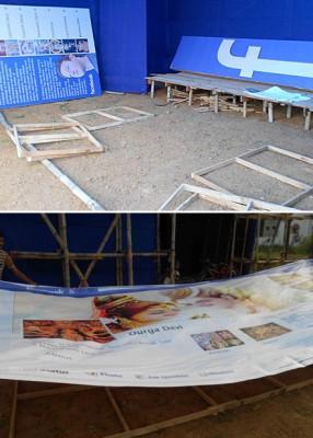 pandal preparation