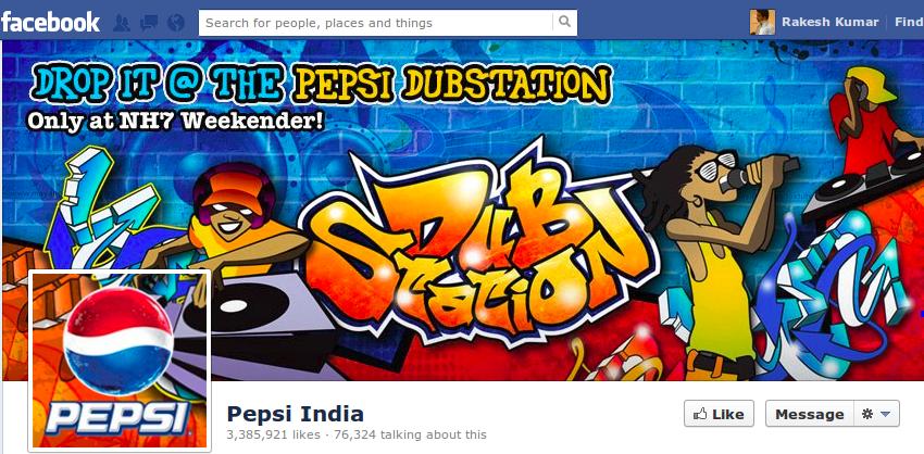 pepsi india cover photo