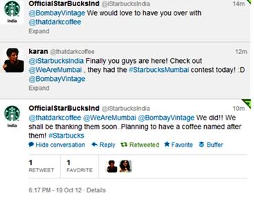 Fake Starbucks Twittter