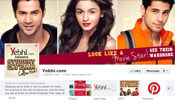 yebhi facebook page