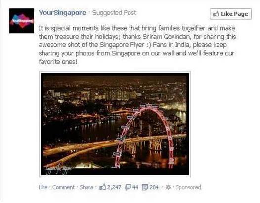 facebook your singapore