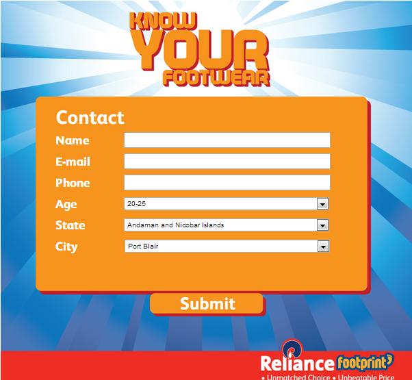Reliance Footprint facebook