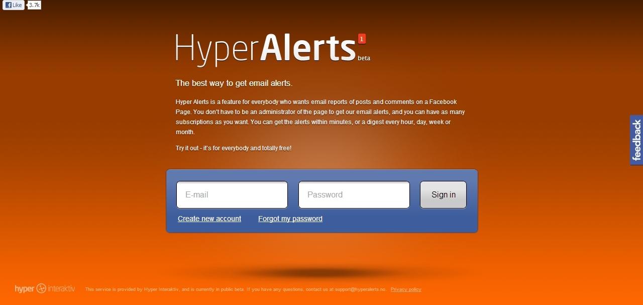 hyper alert