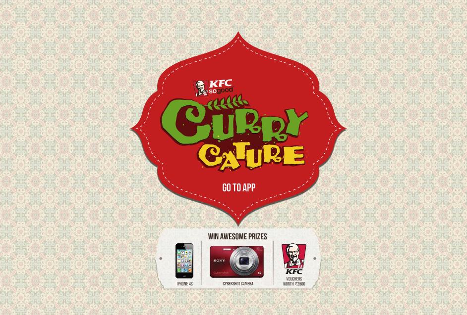 KFC Currycature on Facebook