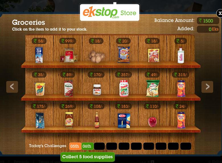 ek stop grocery
