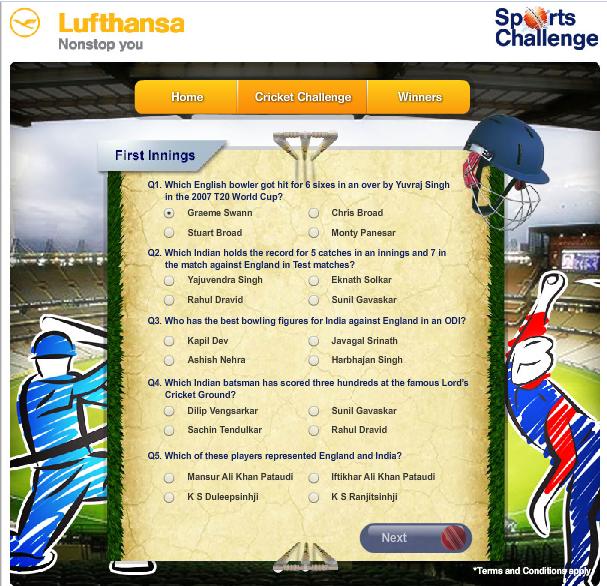 Lufthansa Sports challenge