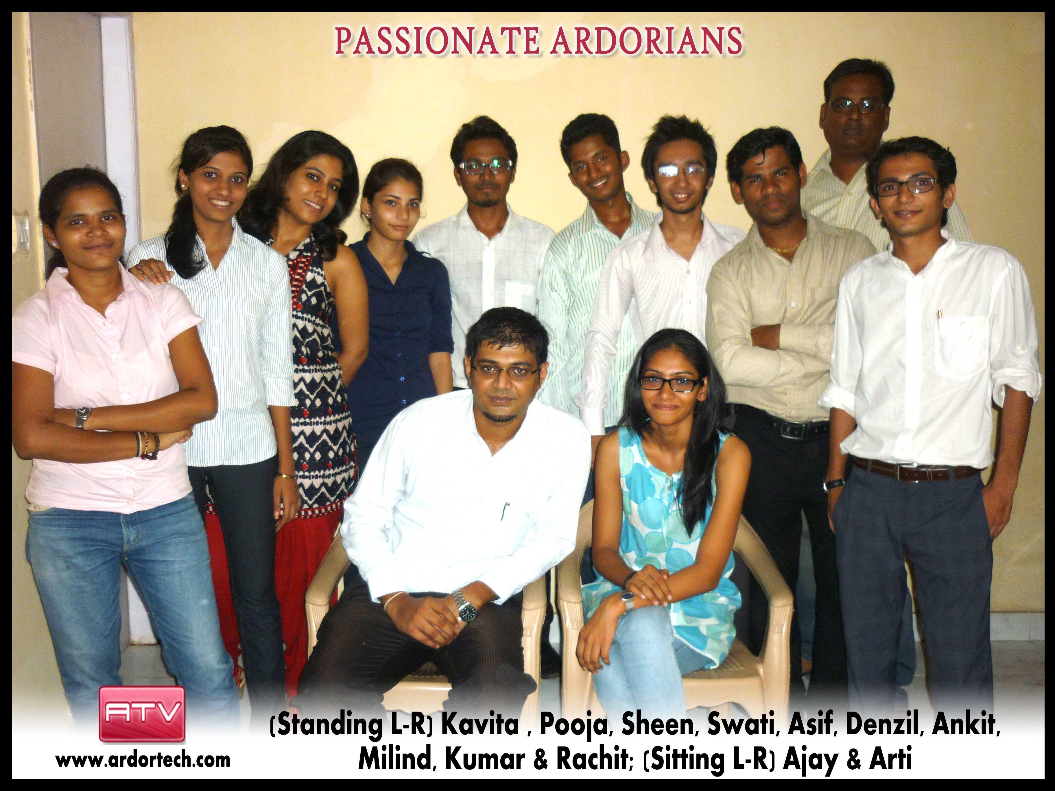 Team Ardor Tech Ventures