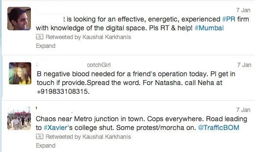 Twitter help centre