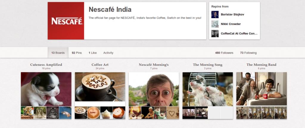 nescafe pinterest,nescafe India pinterest, Coffee brand on Pinterest