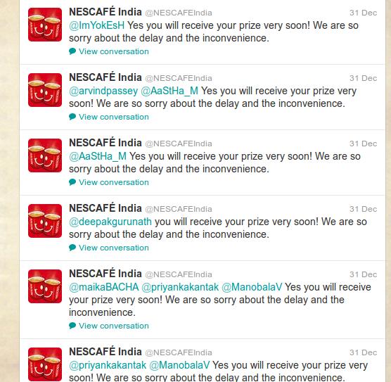 nescafe crisis apology, Social Media Crisis, Twitter Crisis, Indian Brand Twitter Crisis