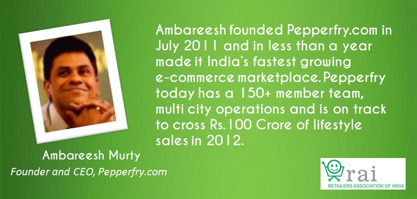 Ambareesh Murty Pepperfry at Retail Leadership Summit
