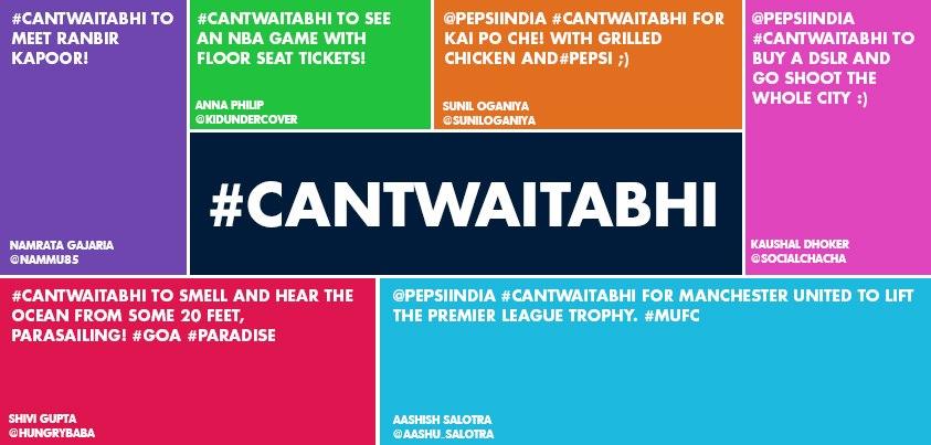 #CantWaitAbhi