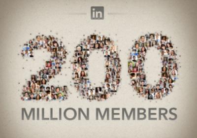 linkedin 200 million members