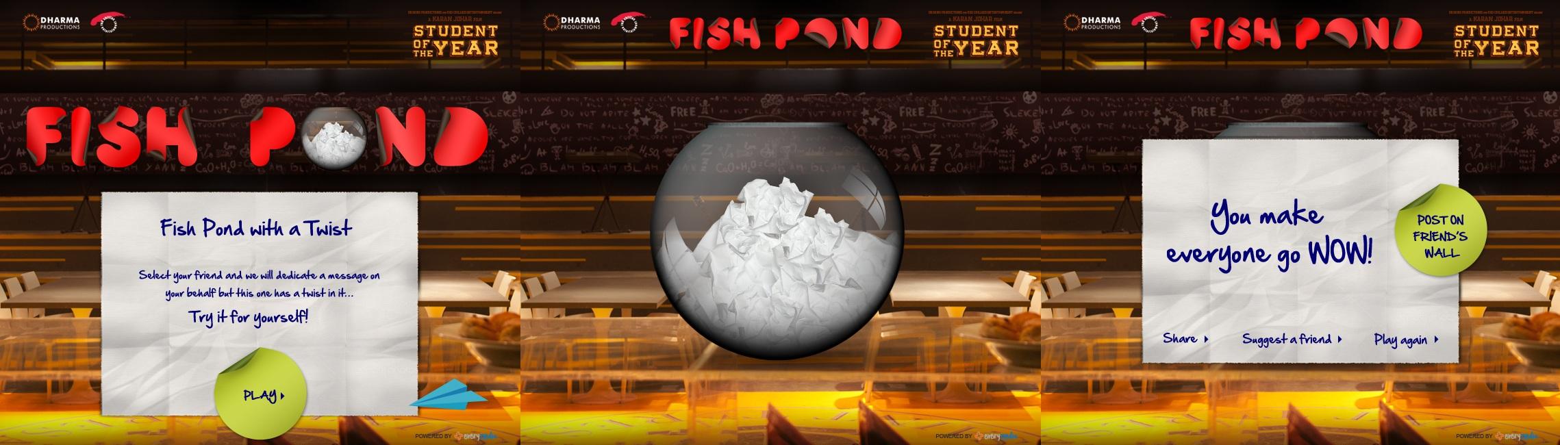 Fish Pond App