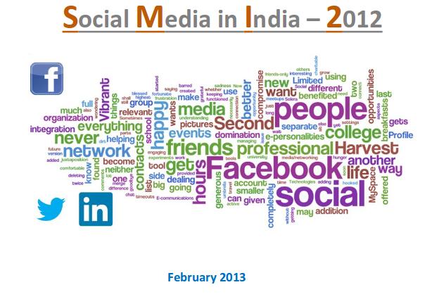Social Media in India, 2012