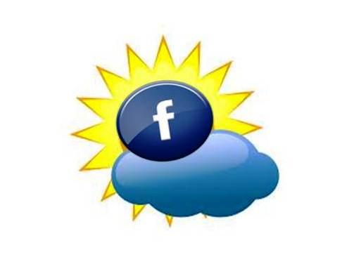 facebook weather