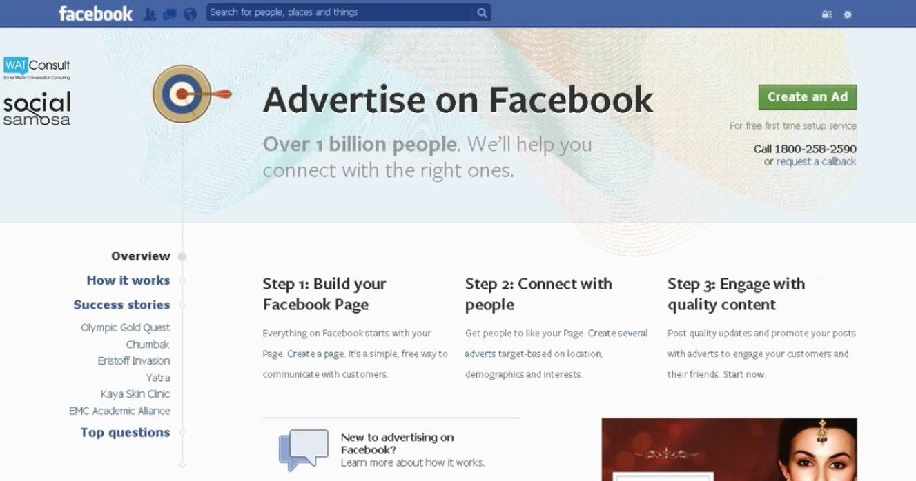 create a facebook ad campaign