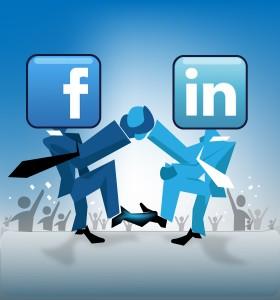 Facebook vs Linkedin