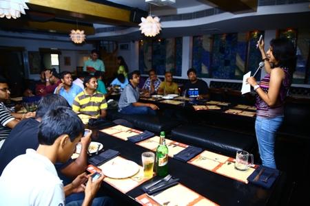 Aircel Blogger meet