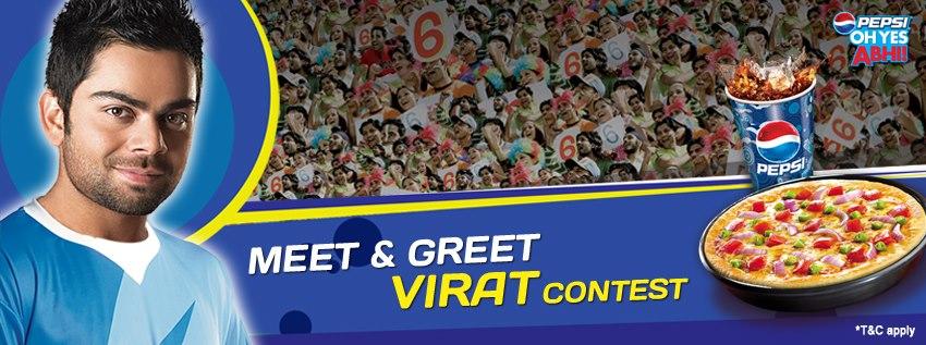 Social media campaign review pizza hut meet and greet virat kohli social media campaign review pizza hut meet and greet virat kohli contest m4hsunfo