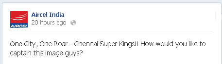 Aircel India Twitter typo error