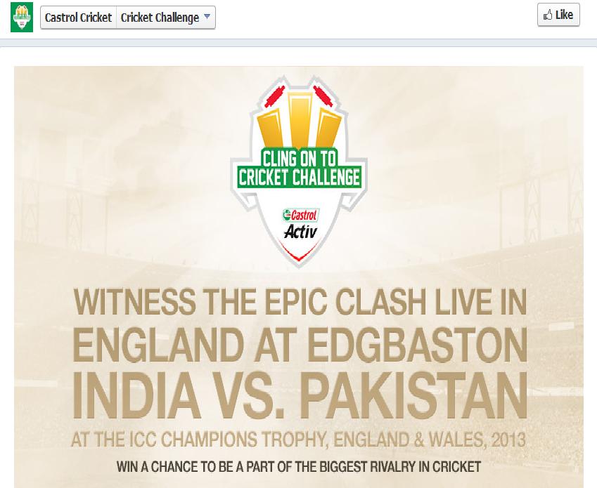 Castrol cricket challenge