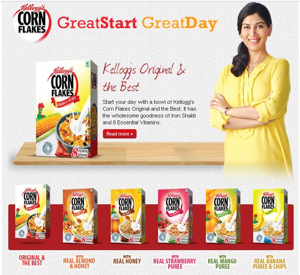 Kellogg's Corn Flakes India