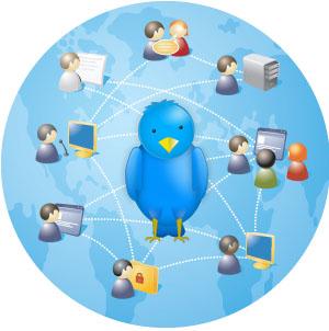 Twitter and linkedin