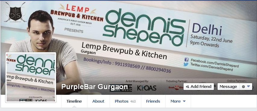Lemp Brew Pub PurpleBar Gurgaon