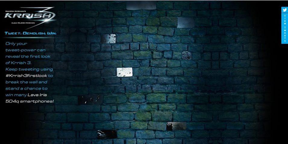 Krrish 3 Campaign Wall