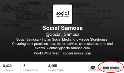 Social Samosa Twitter Profile