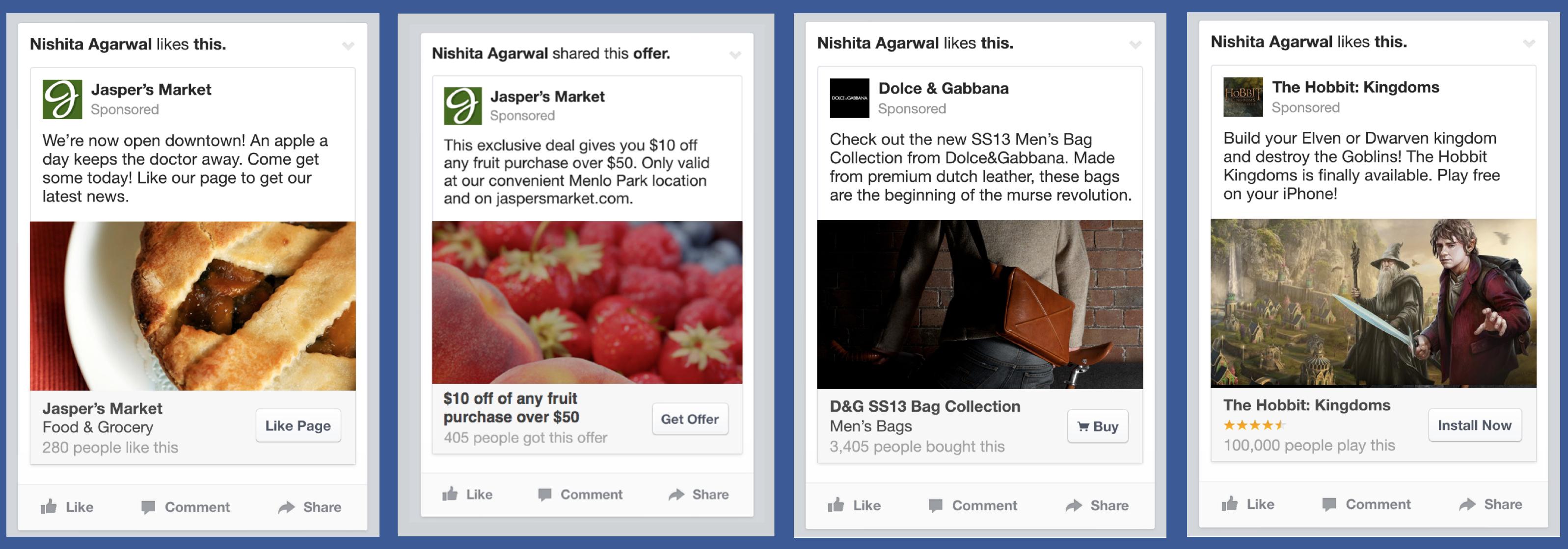 conseistient Facebook ads