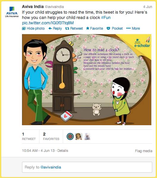 Aviva Life Insurance Tweets