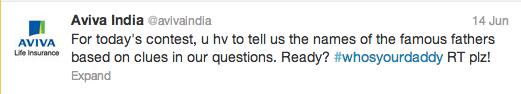 Aviva Life Insurance Twitter